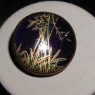 Satsuma Button Cobalt Bamboo