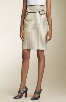 Nanette Lepore - striped skirt