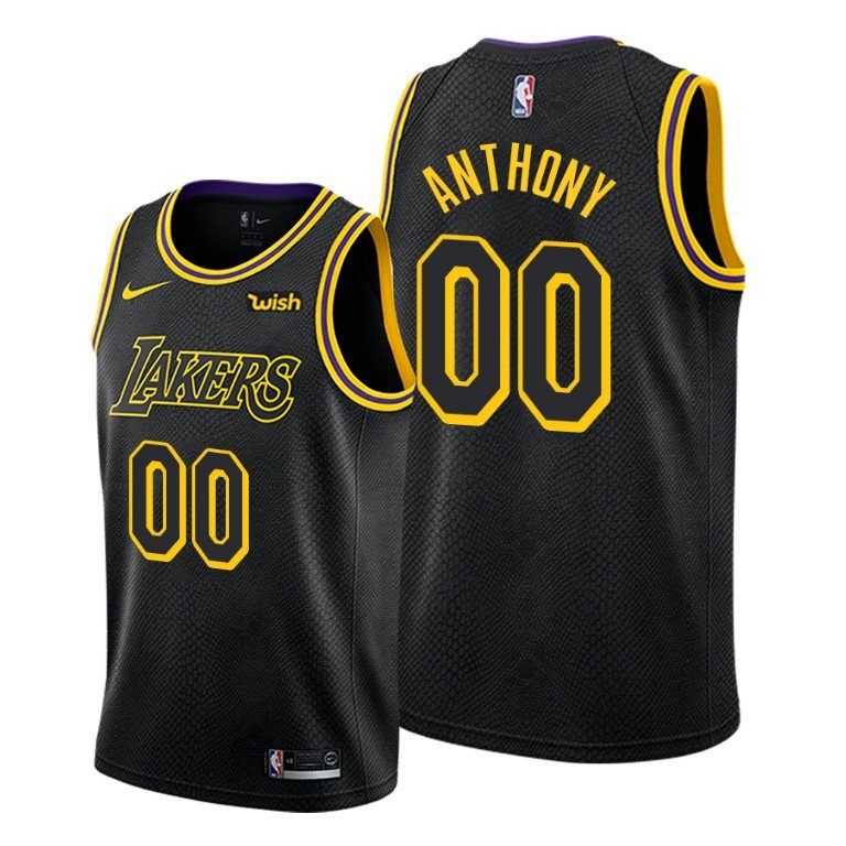 Los Angeles Lakers #00 Carmelo Anthony Trade Jersey Jersey Men ...