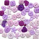 LILAC scrapbooking buttons by Dress It Up/ Jesse James (lot# 011)