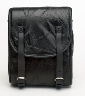 Leather Motorcycle Sissy Bar Bag