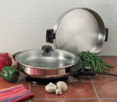 Precise Heat Electric Skillet