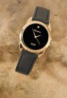 Mens Quartz Genuine Diamond Watch