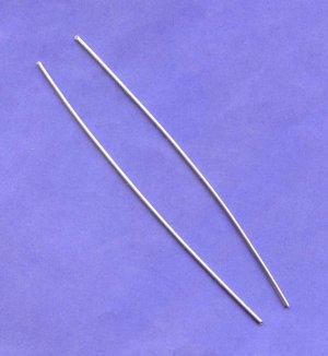 "Pure Silver Wire 9999 6"" (2each) 12 ga by Atlasnova"