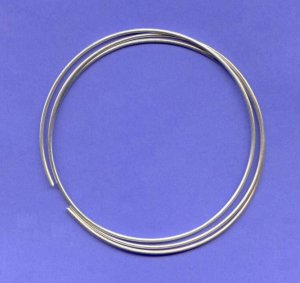 Pure Silver Wire 9999 10 gauge 1 OZ 20 Inches