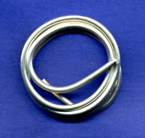 Pure Silver Wire 9999 12 gauge 1 OZ 36 Inches