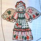 Country Angel Christmas Preprinted Fabric Panel You Sew