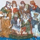 Miniature Nativity Scene for Christmas Village New