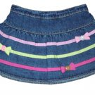 GYMBOREE NWT Imaginary Friends Denim Skirt 18-24m