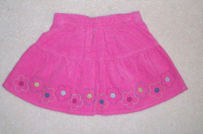 GYMBOREE Imaginary Friends NWT Pink Corduroy Skirt 2T