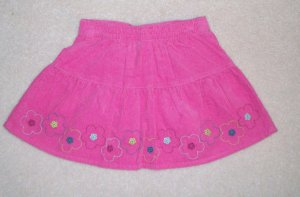 GYMBOREE Imaginary Friends NWT Pink Corduroy Skirt 2T
