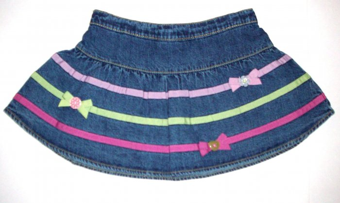 GYMBOREE NWT Imaginary Friends Denim Skirt 3T