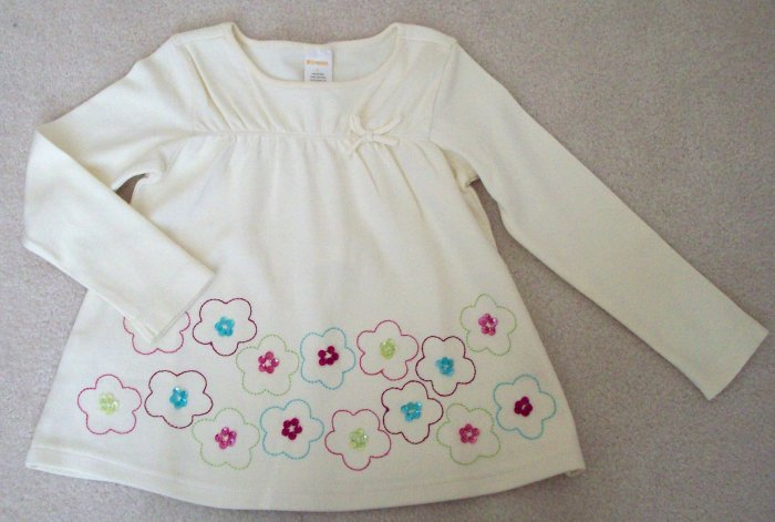 GYMBOREE NWT Imaginary Friends Ivory Swing Top 5 HTF!