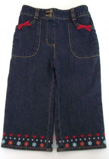GYMBOREE NWT Mountain Cabin Denim Jeans 12-18 m
