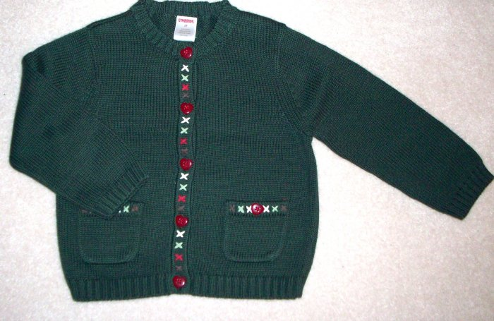 GYMBOREE NWT Mountain Cabin Sweater 12-18m