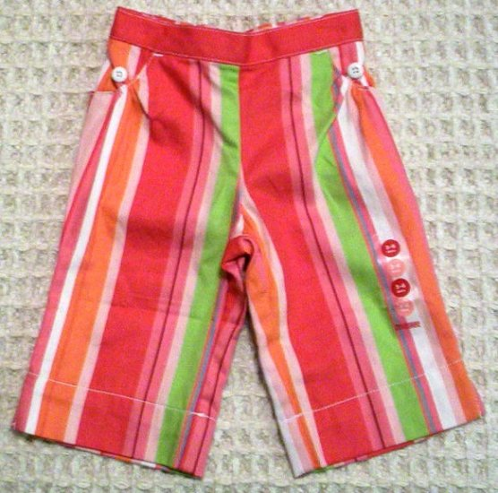 GYMBOREE NWT Sugar Cookie Stripe Pants 3-6m