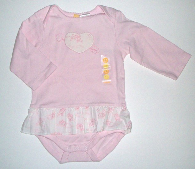 GYMBOREE NWT Valentines Day Bodysuit 6-9m