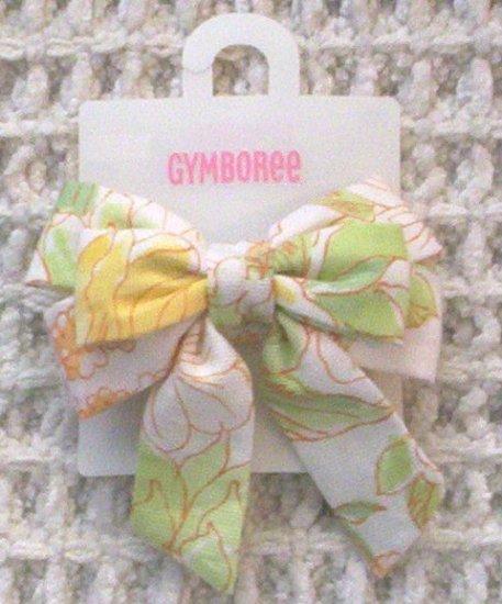 GYMBOREE NWT Wildflower Fields Magnolia Bow