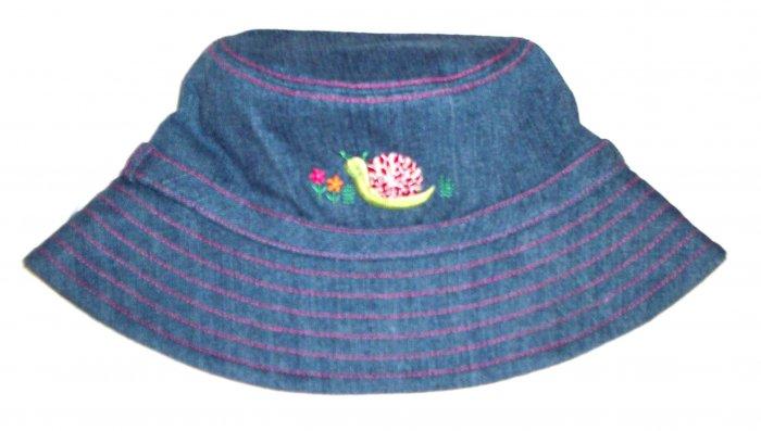 GYMBOREE NWT Grown With Love Denim Hat L/XXL
