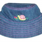 GYMBOREE NWT Grown With Love Denim Hat L/XXL