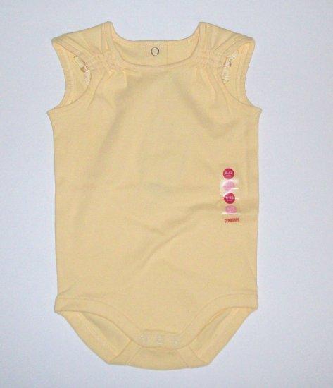 GYMBOREE Bonjour Provence NWT Yellow Bodysuit 6-12m