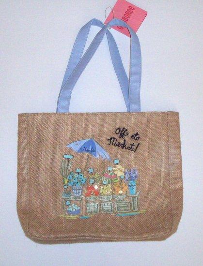 GYMBOREE NWT Bonjour Provence Bag