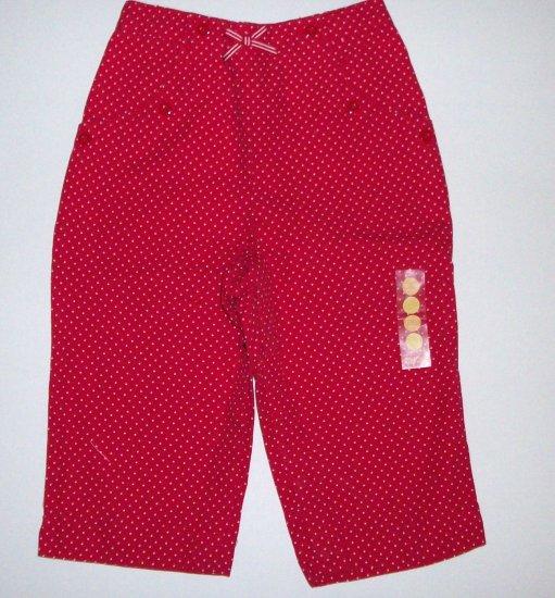 GYMBOREE NWT Poppy Fields Pants 12-18m