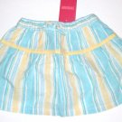 GYMBOREE NWT Pool Party Striped Skirt 12-18m
