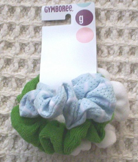 GYMBOREE NWT Dandelion Wishes Scrunchies
