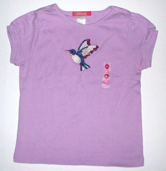 GYMBOREE NWT Romantic Garden Hummingbird Top 8