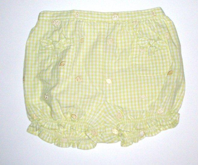 GYMBOREE NWT Lemony Fresh Bloomers 3T