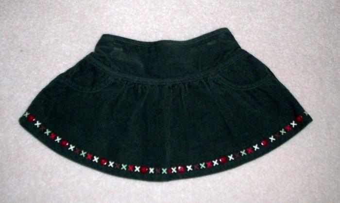 GYMBOREE NWT Mountain Cabin Corduroy Skirt 18-24m