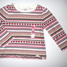 GYMBOREE NWT Mountain Cabin Ruffled Top 18-24