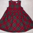 GYMBOREE NWT Mountain Cabin Plaid Dress 18-24 m