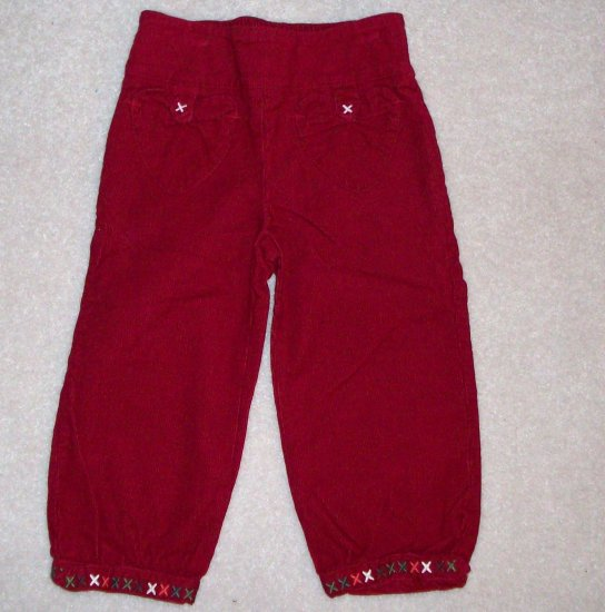 GYMBOREE NWT Mountain Cabin Corduroy Pants 2T