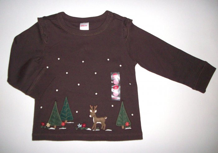 GYMBOREE NWT Mountain Cabin Top 2T