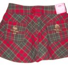 GYMBOREE NWT Mountain Cabin Plaid Skort 3