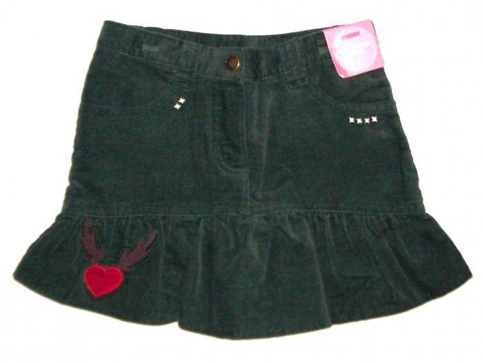 GYMBOREE NWT Mountain Cabin Green Skort 4
