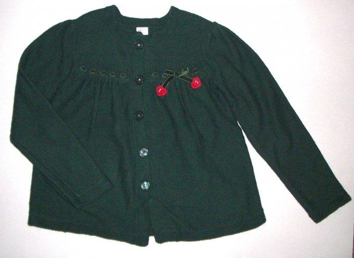 GYMBOREE NWOT Mountain Cabin Green Cardigan Sweater 10