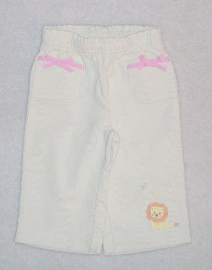 GYMBOREE Jungle Friends NWT Corduroys 6-12m