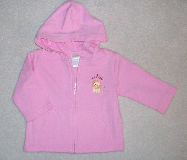 GYMBOREE Jungle Friends NWT Hoodie 6-12m NEW