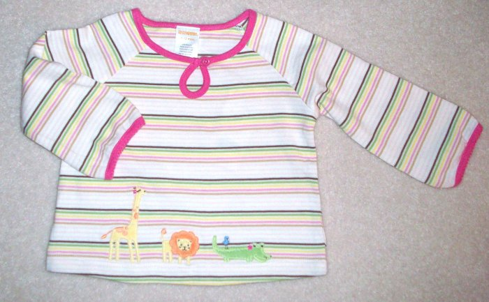 GYMBOREE Jungle Friends NWT Top 12-18m