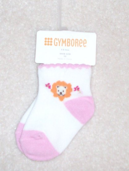 GYMBOREE Jungle Friends NWT Socks 3-6m NEW
