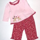 GYMBOREE NWT Colorful Village 2-piece set 6-12m