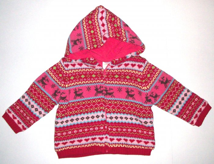 GYMBOREE NWT Colorful Village Jacket 12-18 m