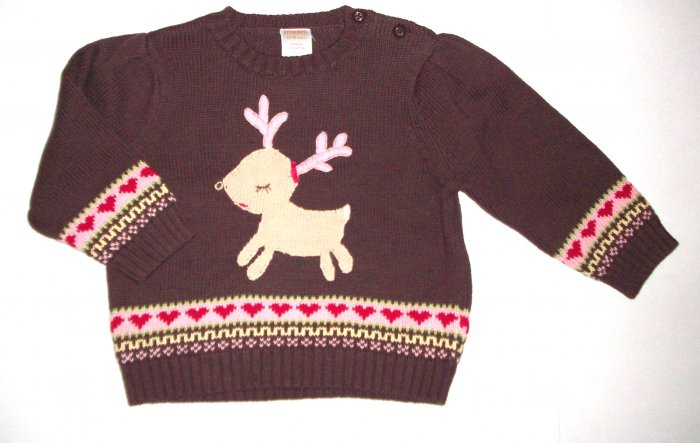 GYMBOREE NWT Colorful Village Sweater 12-18 m