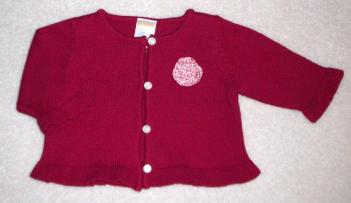 GYMBOREE NWT Sitting Pretty Cardigan 0-3m