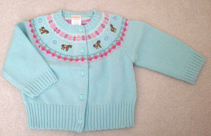 GYMBOREE Park City Luxe NWT Sweater 18-24 m