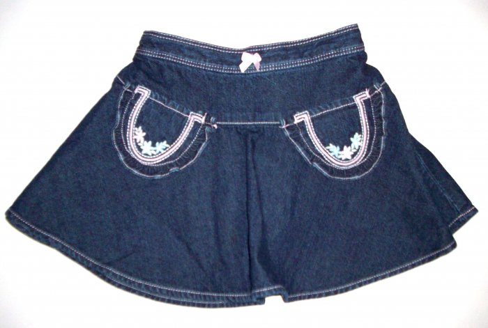 GYMBOREE NWT Park City Luxe Denim Skirt 3T NEW