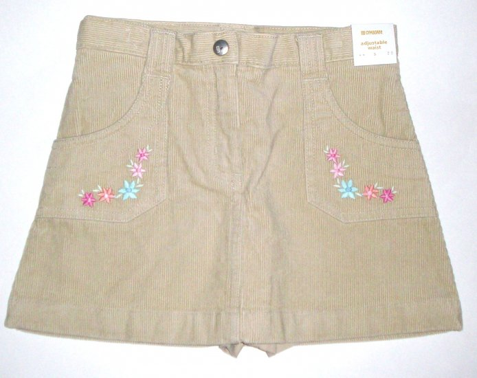 GYMBOREE NWT Park City Luxe Corduroy Skirt 3